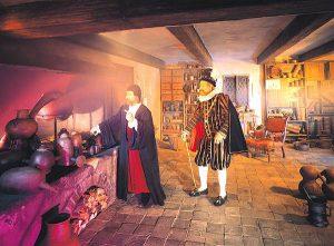 Alchemy work room of Rudolph II