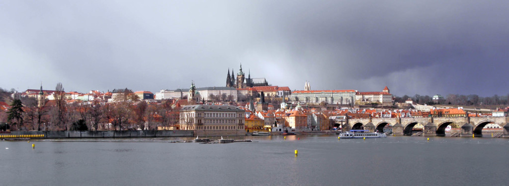Prague Castle across Vltava