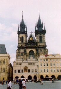 Tyn cathedral (1365-1511)