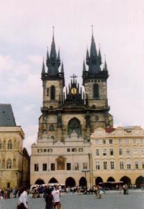 Tyn cathedral (1365-1511)