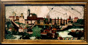 View of Prague Castle and Lesser Town - Giovanni Castrucci