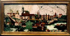 View of Prague Castle and Lesser Town - Giovanni Castrucci