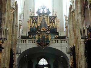 The Organ in the Church of Our Lady before Týn