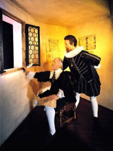 Johannes Kepler and Tycho de Brahe